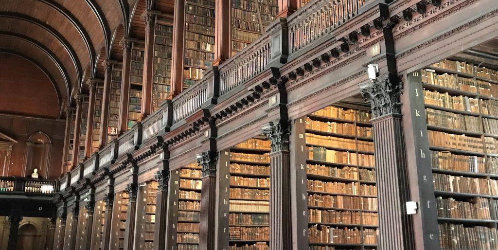 Dublin hat eine der ehrwürdigsten Bibliotheken der Welt.