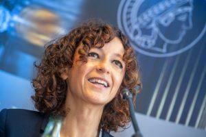 Chemie-Nobelpreisträgerin Emmanuelle Chrpentier (Bildrechte: Max-Planck-Gesellschaft)